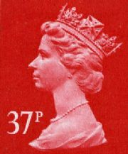 37p Cheap GB Postage Stamp
